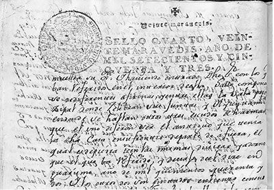 Manuscrito antiguo